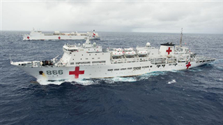 A look at China's 'floating hospital' Peace Ark