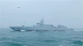 China debuts most powerful destroyer in celebrations