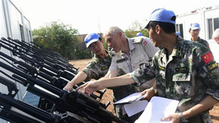 Chinese peacekeeping force to South Sudan passes UN equipment inspection