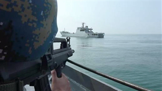 PLA Naval Landing Ship Group conducts four-day drill in the Yellow Sea