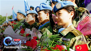 Graphics: China's role in world's peacekeeping cause