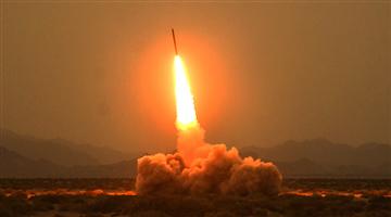 Long-range Multiple Launch Rocket System fires rockets at targets