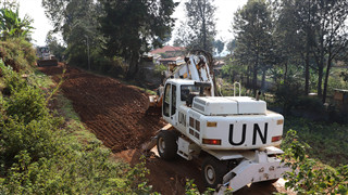 Chinese peacekeepers to DR Congo repair major local roads