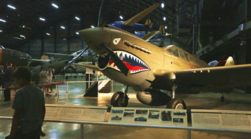 Exhibits from U.S. Air Force museum reveal China-U.S. co-op in World War II