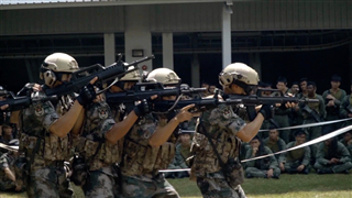 China, Singapore hold joint military drill on urban anti-terrorism