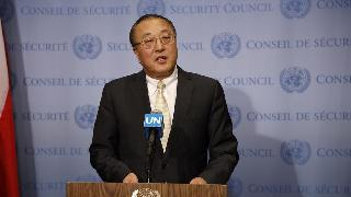 Chinese UN envoy calls for peaceful means to resolve Kashmir issue
