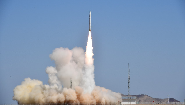 China's commercial carrier rocket Smart Dragon-1 makes maiden flight