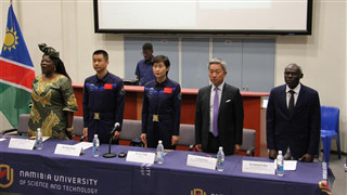 Namibian students enthralled with space travel as Chinese astronauts leave lasting imprint