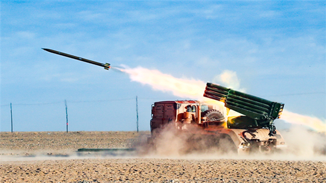 Rocket launchers fire at altitude of 4,000 meters