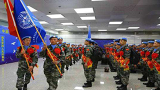 China sends 163 peacekeepers to South Sudan