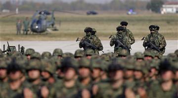 Serbian military show