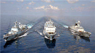 Chinese naval 33rd escort taskforce starts 2nd round of in-port replenishment