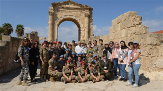 UNIFIL female peacekeepers join military officers from region in protecting cultural heritage