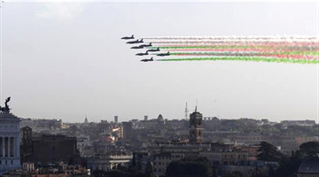 Italy's National Unity and Armed Forces Day marked in Rome