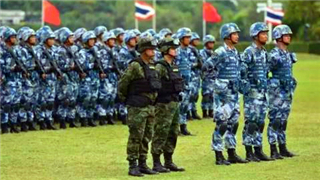 Pre-training conducted among Chinese and Thai troops for ASEAN anti-terrorism exercise