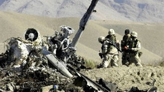 2 U.S. soldiers killed in helicopter crash in Afghanistan
