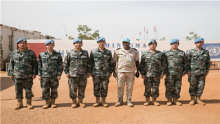 Chinese medical contingent to Mali receives UN commendation