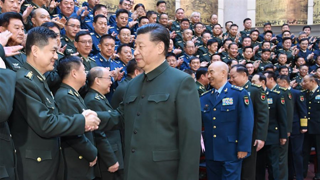 Xi stresses cultivating new type of military personnel