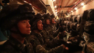 Chinese forces leave for Pakistan to attend 'Warrior-VII' joint military drill