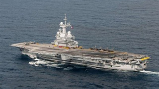 Ukrainian, French ships hold joint drills