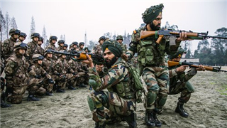 China, India stage counter-terrorist drills