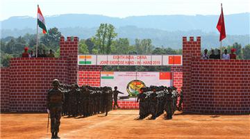 China, India conduct