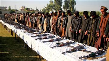 180 more IS militants surrender in E. Afghan province