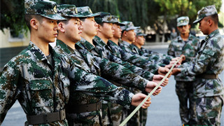 A young man in south China is punished for refusing to continue military service