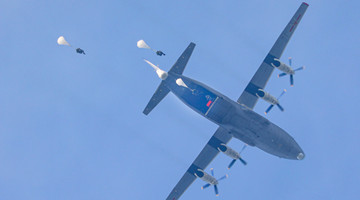 Paratroopers finish their maiden jumps