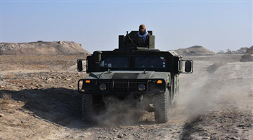 Military operation held in Balkh province, N Afghanistan