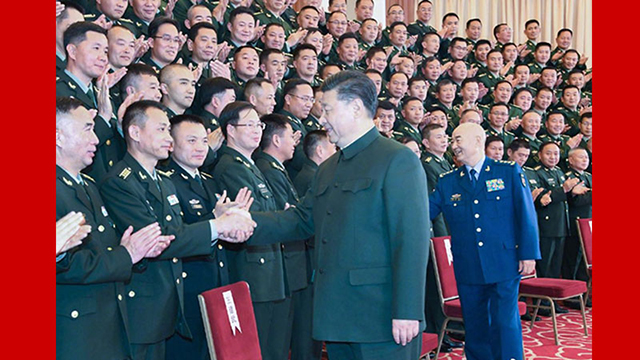 Xi inspects troops stationed in Yunnan