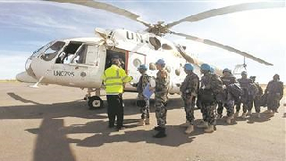 Chinese peacekeepers' combat readiness in Darfur recognized by UN