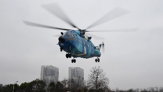 PLA dispatches helicopters to deliver medical supplies in coronavirus-hit Wuhan