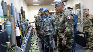 Chinese peacekeepers to perform humanitarian demining mission in Lebanon