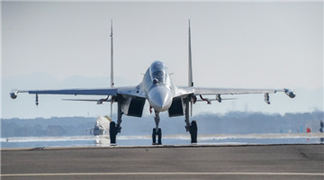 Fighter jets engage in flight missions