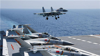 J-15 aircraft carrier-based fighter jet gets new anti-corrosion paint