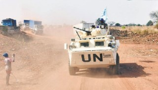 Chinese peacekeeping force completes armed escort mission in South Sudan