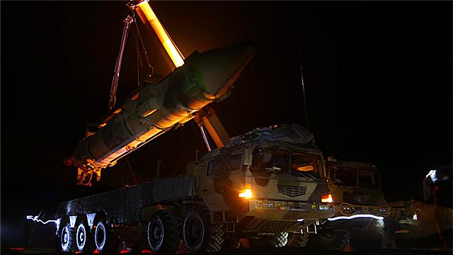 Rocket force busy in field training