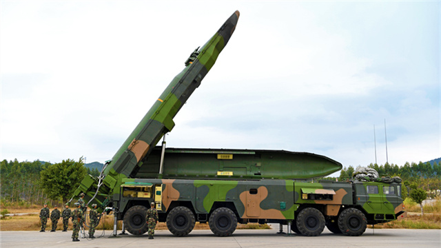 PLA Rocket Force maintains combat readiness
