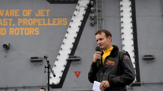 What U.S. is trying to hide by firing the captain of USS Roosevelt