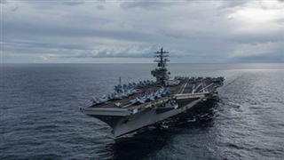 US aircraft carriers rush to increase maritime presence