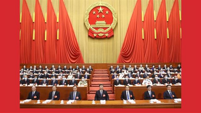 China's national legislature starts annual session