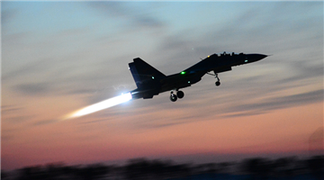 Fighter jet receives power-on inspections
