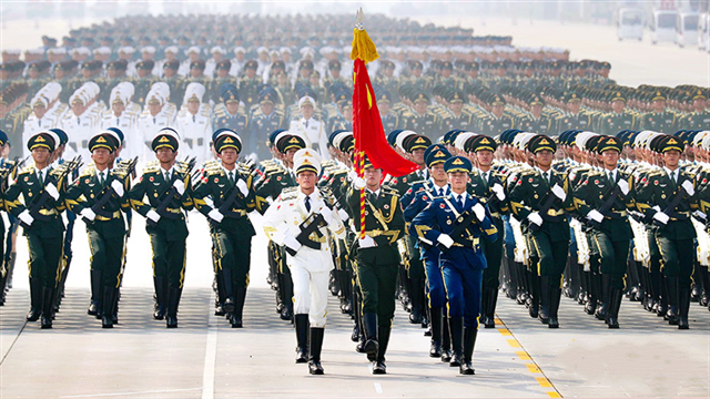 Xi stresses strengthening national defense, armed forces