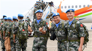 Chinese peacekeepers play valuable role