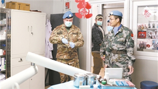 UNIFIL commander lauds Chinese medical peacekeepers to Lebanon