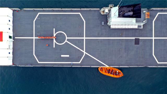 Maritime realistic training held in China's Yellow Sea