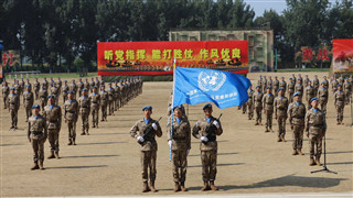 Eighth Chinese peacekeeping contingent to Mali sets out for new mission
