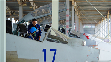 Naval fighter jets taxi before takeoff