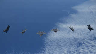 Israeli, U.S. air forces hold joint exercise